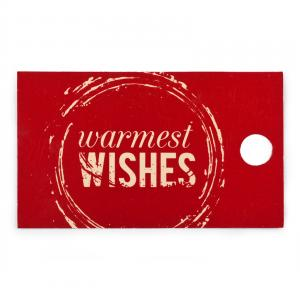 Warmest Wishes Craft Sampler Box - Warmest Wishes Tag