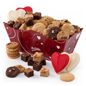 Embossed Heart Tray of Treats