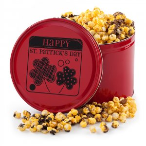 St Patricks Day Popcorn Tub