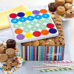 birthday tin gift cookies happy birthday