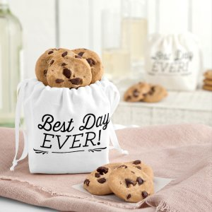 tote wedding cookies gift bag