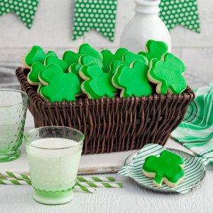 st patricks day st patricks day st pattys day basket gift