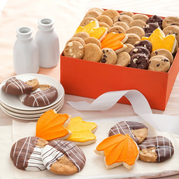 fall box gift cookie gift box