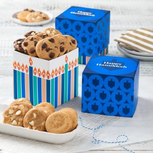 Hanukkah gift box holiday