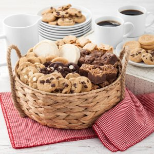 corporate gifts custom gifts gift basket basket cookies