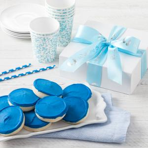 newborn baby gift box its a boy - 8 Cookies