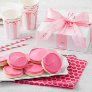 newborn baby gift box its a girl - 8 Cookies