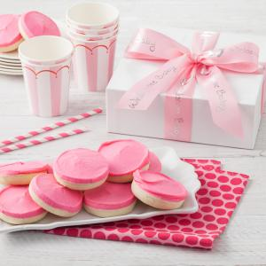 newborn baby gift box its a girl - 12 Cookies