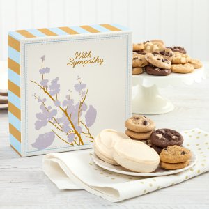 sympathy thinking of you cookies gift box