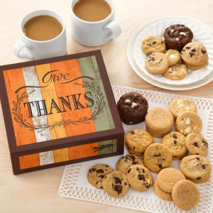 fall box gift cookie gift box fall gifts thanksgiving
