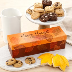 fall box gift cookie gift box thanksgiving