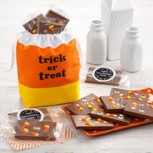 halloween box gift chocolate bark candy