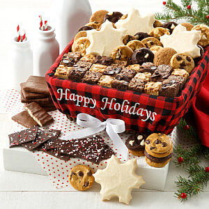 holiday christmas xmas basket gift gourmet gift basket