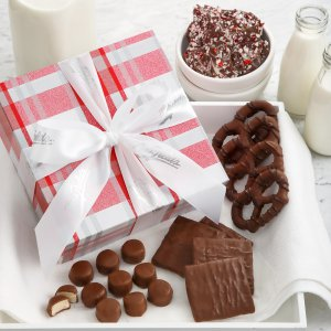 holiday christmas xmas gift candy box chocolate