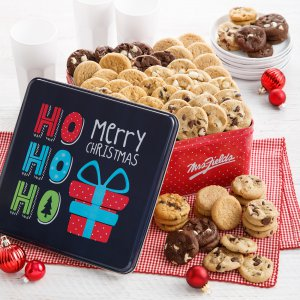 holiday tins holiday tin christmas xmas gift cookies