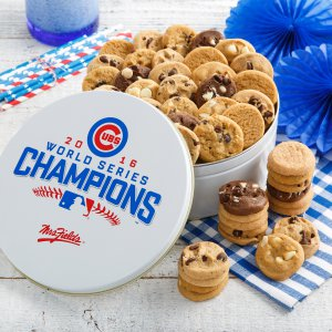 Chicago Cubs 2016 World Series Champions Nibbler Tin