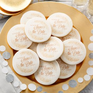 Tying the Knot Logo Cookies