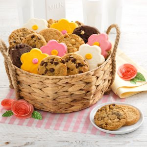 spring mothers day mothers day mom cookies gift basket
