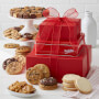 Traditional Crimson Cookie Tower