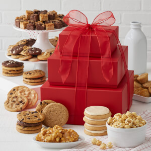 Abundant Crimson Cookie Tower