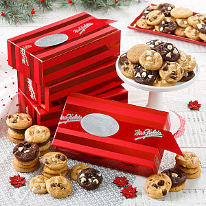 24 Nibblers Striped Box by the Case