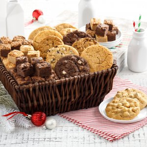 Full Dozen Cookies  Brownie Bites Basket