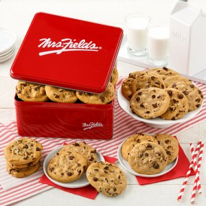 Two Full Dozen Chocolate Chip Cookie Tin