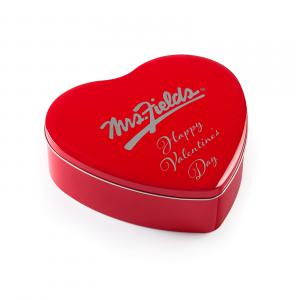 Valentine Nibblers Heart Tin - Tin Sentiment