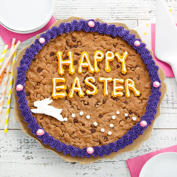 Bunny Trail Cookie Cake