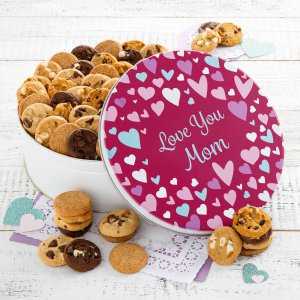Love You Mom Deluxe Nibbler Tin