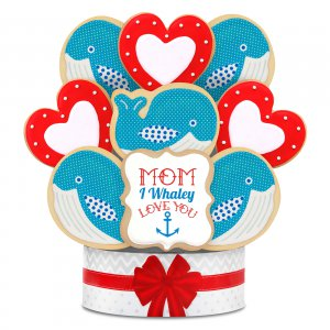 I Whaley Love you Bouquet 9 Cookie