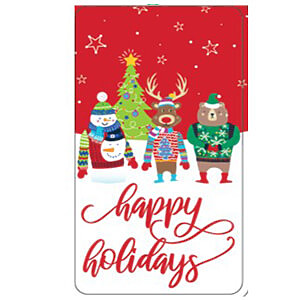 6CT Happy Holidays Tin - Case of 24