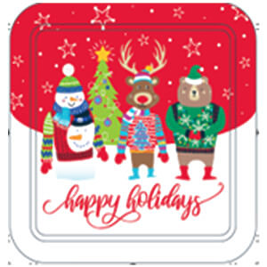 24CT Happy Holidays Tin - Case of 12