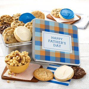 Plaid For Dad Combo Tin