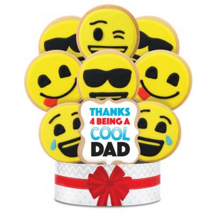 Cool Dad Bouquet 9 Cookie