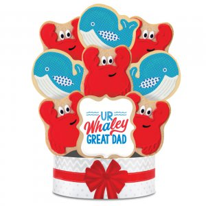 UR Whaley Great Dad Bouquet 6 Cookie