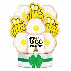 Just Bee-Cause Bouquet 6 Cookies