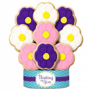 Flavorful Flowers Bouquet 6 Cookies