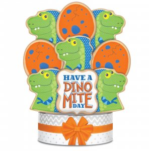 Dino-Mite Day Bouquet 6 Cookies