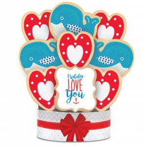 Whaley Love You Bouquet 9 Cookies
