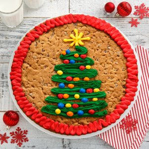 Holiday Tree Cookie Cake Mrs Fields