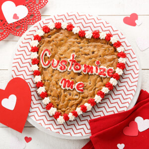 Have a Heart Custom 9 Cookie Cake