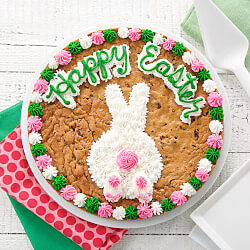 Bunny Tail Cookie Cake
